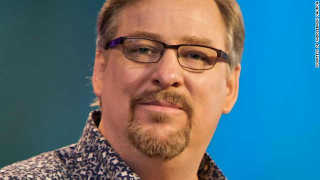 Rick Warren and the purpose driven pressure cooker.