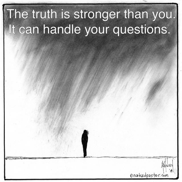 FREE GIFT: The Truth is Stronger Than You POSTER
